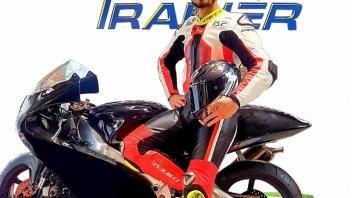 Playtime - Games: Manuel Poggiali: pilota, istruttore ed ora collaudatore Moto Trainer
