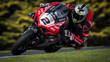 """SBK: Camier ritrova la Ducati a Misano: """"La spalla non è più un problema"""""""