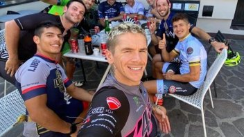 SBK: Scott Redding non stop: Superbike, bicycles, and pure cross