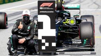 Auto - News: Formula 1 – Bottas beffa Hamilton, disastro Ferrari al Red Bull Ring