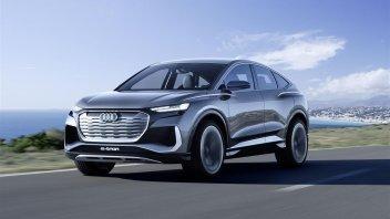 Auto - News: Audi Q4 Sportback e-tron concept: 306 CV, 0 a 100 km/h in 6,3 secondi