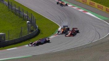 Auto - News: F1- MIRACOLO FERRARI Leclerc 2° dietro a Bottas. Penalità per Hamilton
