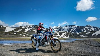 Moto - News: Honda Africa Twin verso l'Islanda per il terzo raid di Adventure Roads