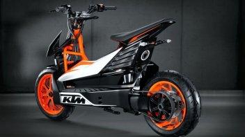 Moto - News: KTM: lo scooter elettrico è in dirittura di arrivo?