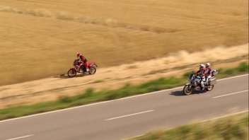 Moto - News: Honda Africa Twin: un nuovo video ne esalta la voglia di avventura