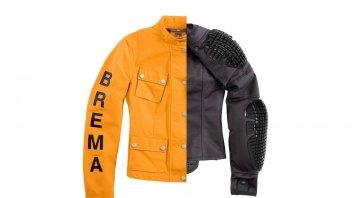 "Moto - News: Brema ""Silver Vase"" Man e Lady, la giacca dal sapore vintage"