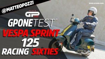 Moto - Test: Prova Vespa Sprint 125 Racing Sixties: stile unico, sapore anni '60