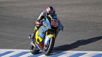 Moto2: Warm Up: Lowes spaventa tutti a Jerez, Bastianini 4°