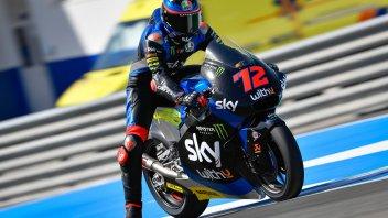 Moto2: FP1: Bezzecchi comincia al meglio, 4° Baldassarri