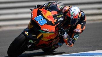 Moto2: Martin si impone nella FP3, cade Nagashima, 9° Marini