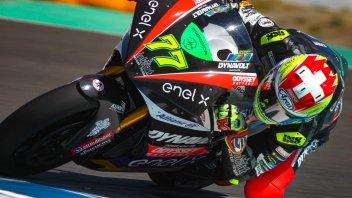 MotoE: Jerez: prima pole elettrica per Aegerter, 2° Ferrari
