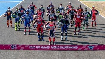 MotoGP: I cavalieri mascherati a Jerez: foto di gruppo dei piloti in incognito