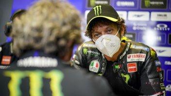 """MotoGP: Rossi dopo le FP3: """"buon lavoro di squadra, abbiamo migliorato la M1"""""""