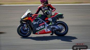 """MotoGP: A.Espargarò: """"L'Aprilia non ha potenza i per tracciati scivolosi"""""""