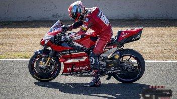 """MotoGP: Petrucci: """"Cosa salvo di Jerez? Il biglietto aereo del ritorno"""""""