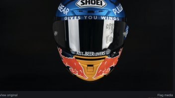 MotoGP: Alex Marquez will wear a new helmet in the GP of Andalusia in Jerez