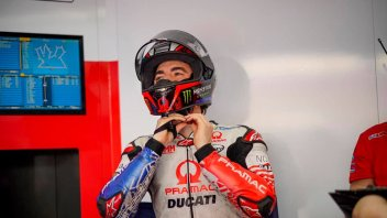 """MotoGP: Bagnaia: """"Marquez? It wouldn't surprise me to see him in the top 10 in FP3"""""""
