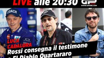 MotoGP: LIVE - Luca Cadalora in diretta: Rossi passa il testimone a Quartararo