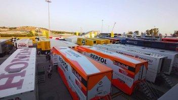 MotoGP: GP di Jerez: paddock blindato e gare illegali in città