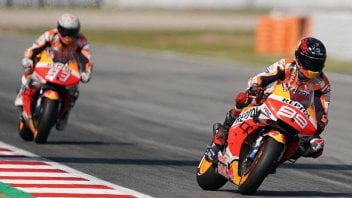 MotoGP: Marquez contro Lorenzo: deve essere penalizzato