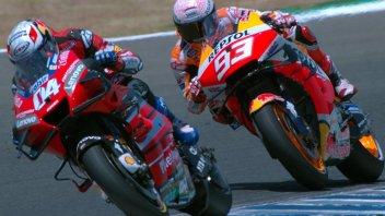MotoGP: La rimonta di Marquez non basta, in TV la Formula 1 batte la MotoGP