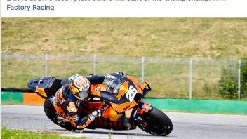 MotoGP: Two day of testing at Brno on the KTM for Dani Pedrosa