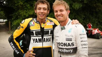 """MotoGP: Rosberg: """"I'll respect Rossi as long as he races, but not just because he's afraid of quitting."""""""