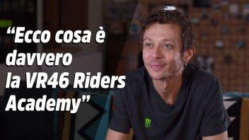 """MotoGP: Rossi: """"Alla VR46 Riders Academy si cresce come piloti e come uomini"""""""