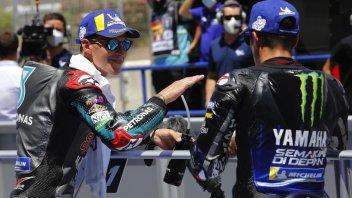 """MotoGP: Quartararo:""""La lotta con Vinales? Voglio essere il migliore in Yamaha"""""""