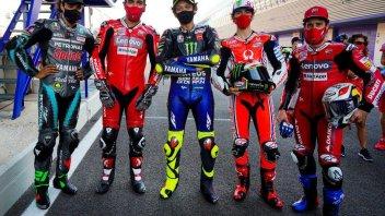 MotoGP: Rossi e i suoi 'fratelli' italiani: foto di gruppo ai tempi del Covid19