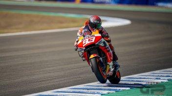 MotoGP: FP1 MotoGP Jerez: Marquez 1° su Vinales. Dovizioso 4°, Rossi solo 13°