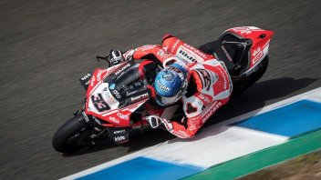 """SBK: Melandri: """"After two laps I was out of breath because of the heat"""""""