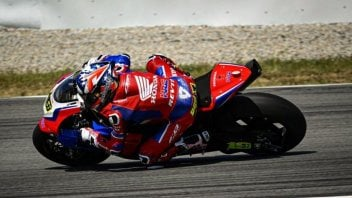 SBK: Honda-Bautista: What's cooking? HRC on track in Aragon...