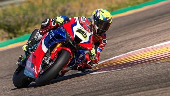 """SBK: Bautista: """"In Aragon I understood the Honda CBR 1000 RR-R better"""""""