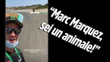 """SBK: Rea e la magia di Marquez a Jerez: """"Marc, sei un animale!"""""""