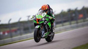 SBK: BSB, Jackson fastest in testing, Buchan and the Hondas impress