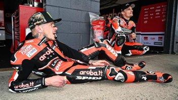 SBK: Scott Redding: 5 kg less for the Ducati V4 and two tenths faster