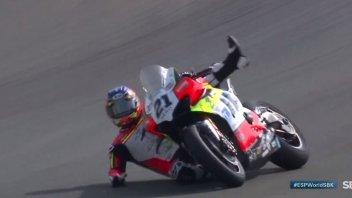 SBK: FP1 da paura: Michael Rinaldi a oltre 250 km/h senza freni!