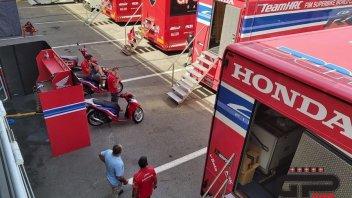 SBK: Honda ferma ai box nei test di Barcellona: ecco cosa sta succedendo