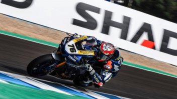 """SBK: Loris Baz: """"When you follow another rider it seems that there are 40 degrees more"""""""