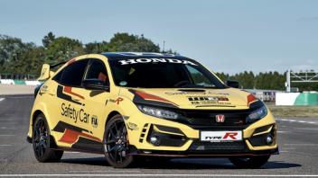Auto - News: La Honda type R Safety Car del FIA World Touring Car Cup 2020