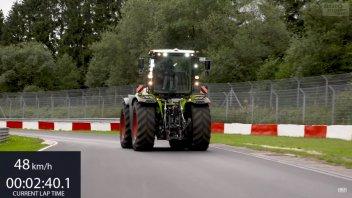 Auto - News: Claas Zerion 5000: il trattore più veloce del Nüburgring!