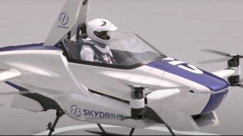 Auto - News: Auto volante: il VIDEO del primo test con pilota in Giappone