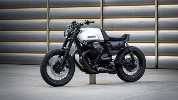 Moto - News: Vagabund V14: una special su base Moto Guzzi V7 III