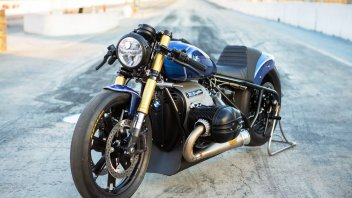 Moto - News: BMW R 18 Dragster di Roland Sands: fascino vintage, anima muscle car