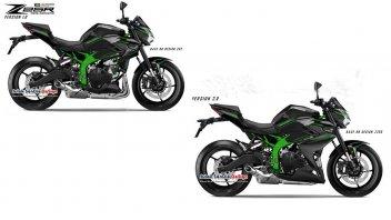Moto - News: Kawasaki Z25R: dopo la supersportiva, perché non realizzare la naked?