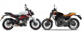 Moto - News: Harley-Davidson 338 R: in arrivo una piccola naked... non Made in USA