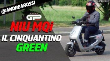 Moto - Test: PROVA Niu MQi+ Sport: il cinquantino green