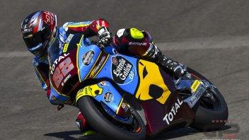 Moto2: Brno, FP1: Lowes fa il vuoto, 6° Manzi con la Mv Agusta