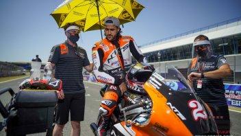 Moto2: Raffin salta Brno: vertigini e stanchezza, sconosciuta la causa